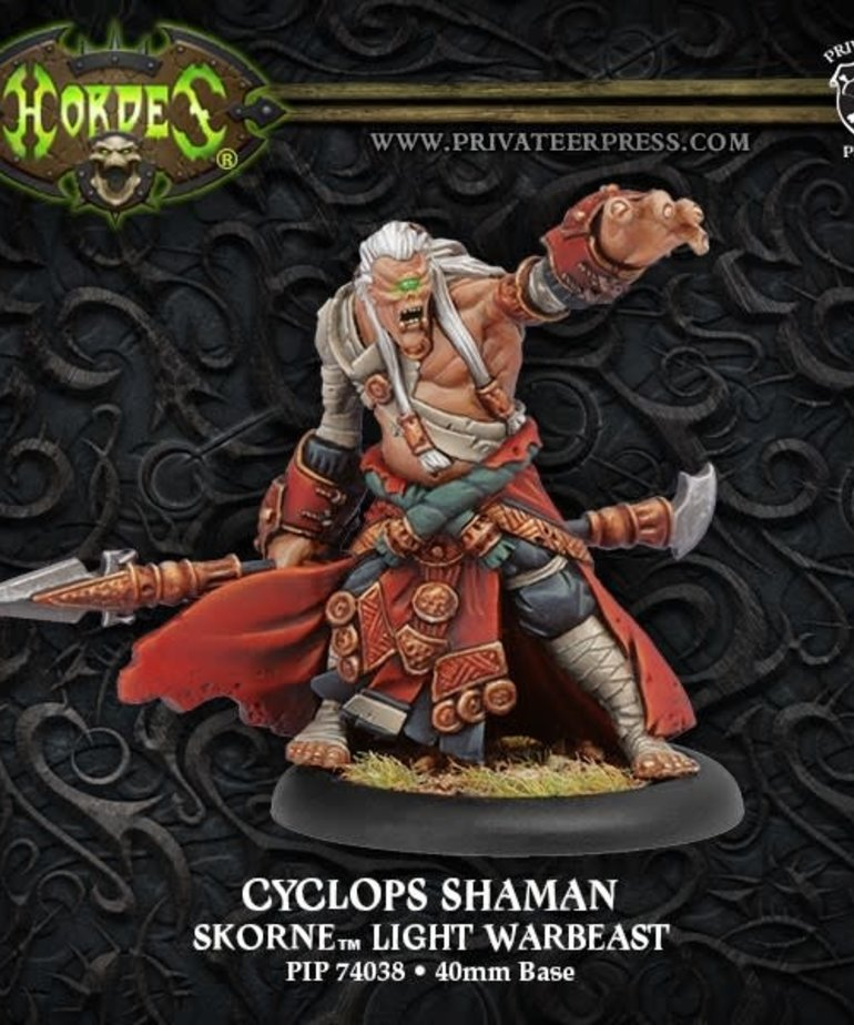 Privateer Press - PIP Hordes - Skorne - Cyclops Shaman - Light Warbeast