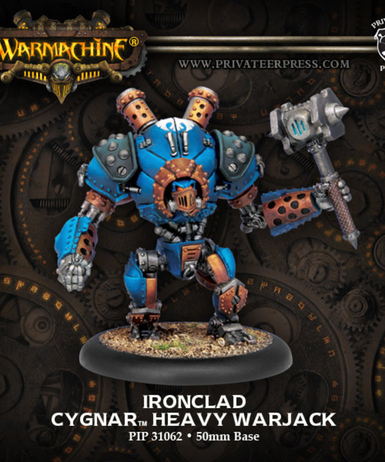 Privateer Press - PIP Warmachine - Cygnar - Cyclone / Defender / Ironclad - Heavy Warjack