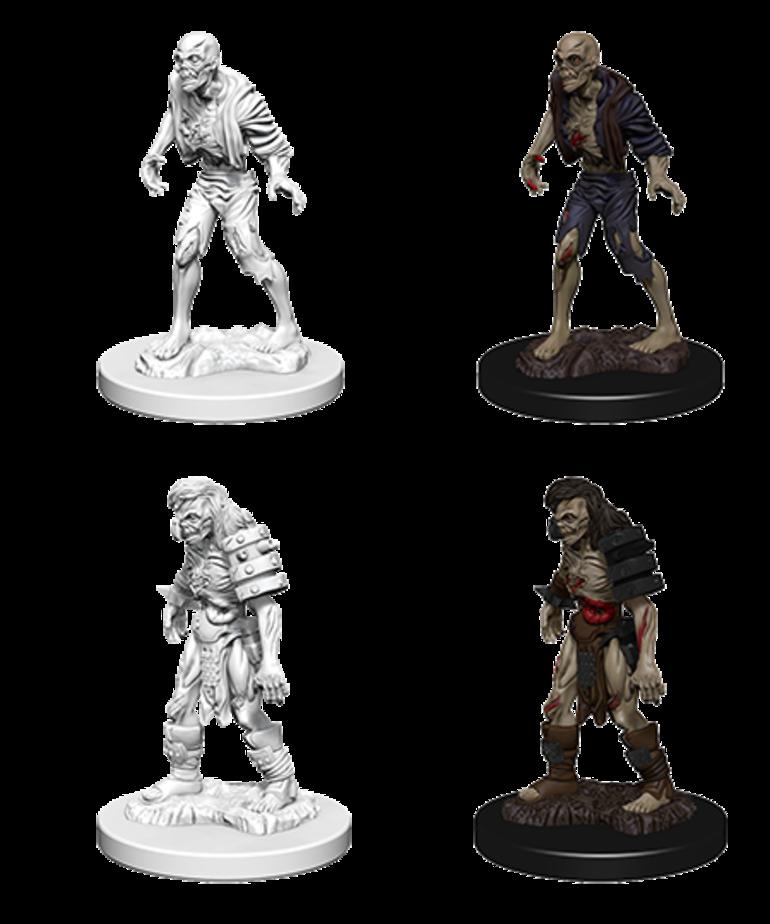 WizKids - WZK D&D: Nolzur's Marvelous Miniatures - Zombies