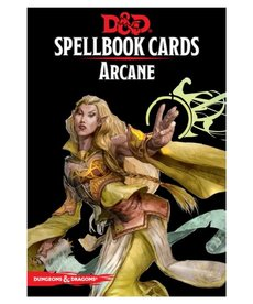 Gale Force Nine - GF9 D&D 5E - Spellbook Cards - Arcane