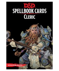 Gale Force Nine - GF9 D&D Spellbook Cards - Cleric