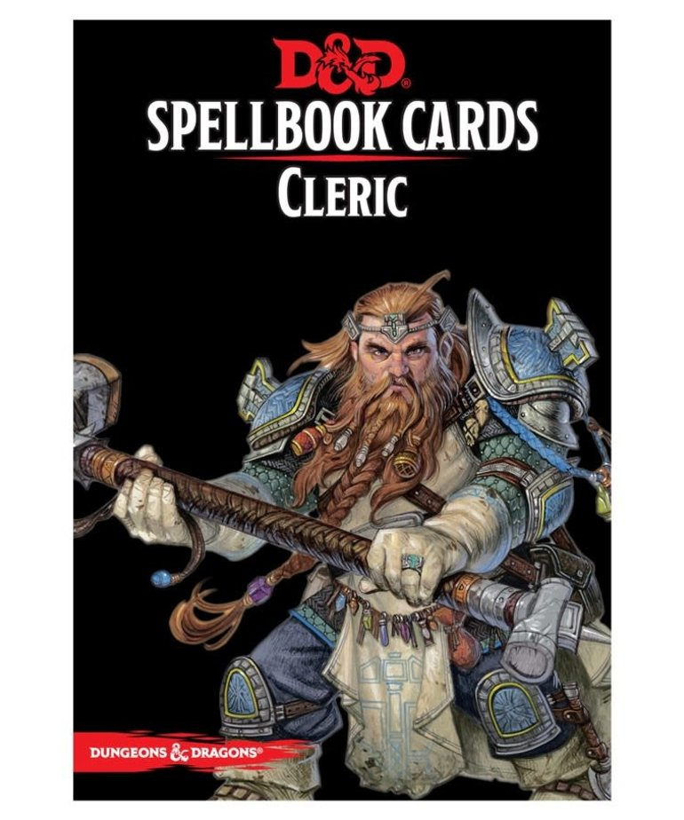 Gale Force Nine - GF9 D&D Spellbook Cards - Cleric