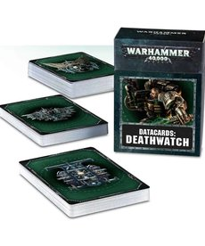 Games Workshop - GAW Warhammer 40k - Datacards: Deathwatch