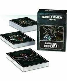 Games Workshop - GAW Warhammer 40k - Datacards: Drukhari
