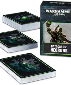 Games Workshop - GAW Warhammer 40k - Datacards: Necrons