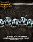 Privateer Press - PIP Warmachine - Retribution of Scyrah - Dawnguard Destors - Cavalry Unit