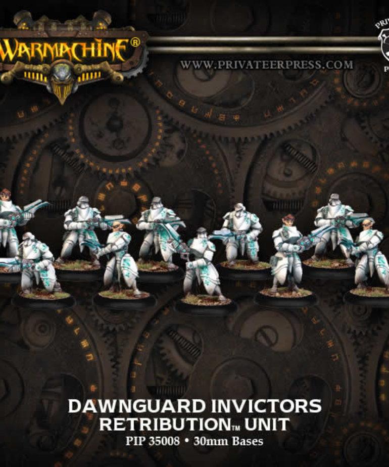 Privateer Press - PIP Warmachine - Retribution of Scyrah - Dawnguard Invictors - Unit