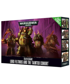 Games Workshop - GAW Warhammer 40k - Death Guard - Lord Felthius and the Tainted Cohort - Easy to Build
