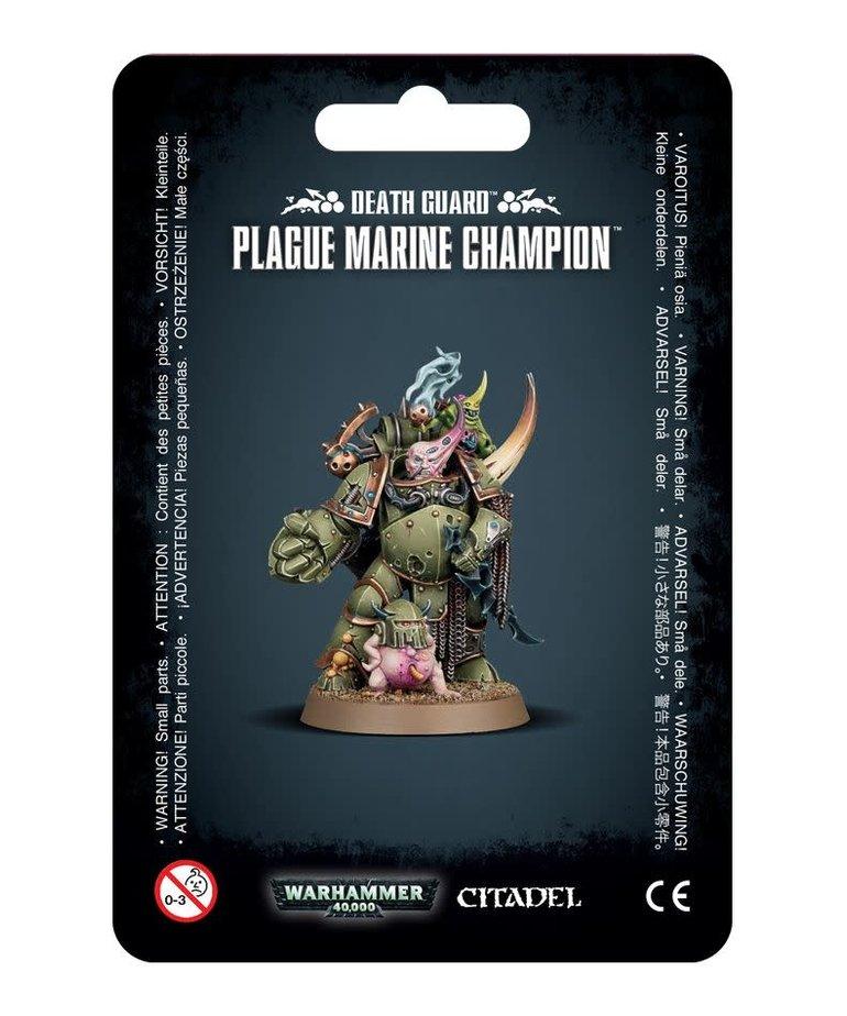 Games Workshop - GAW Warhammer 40k - Death Guard - Plague Marine Champion