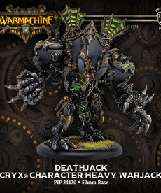 Privateer Press - PIP Warmachine - Cryx - Deathjack - Character Heavy Warjack