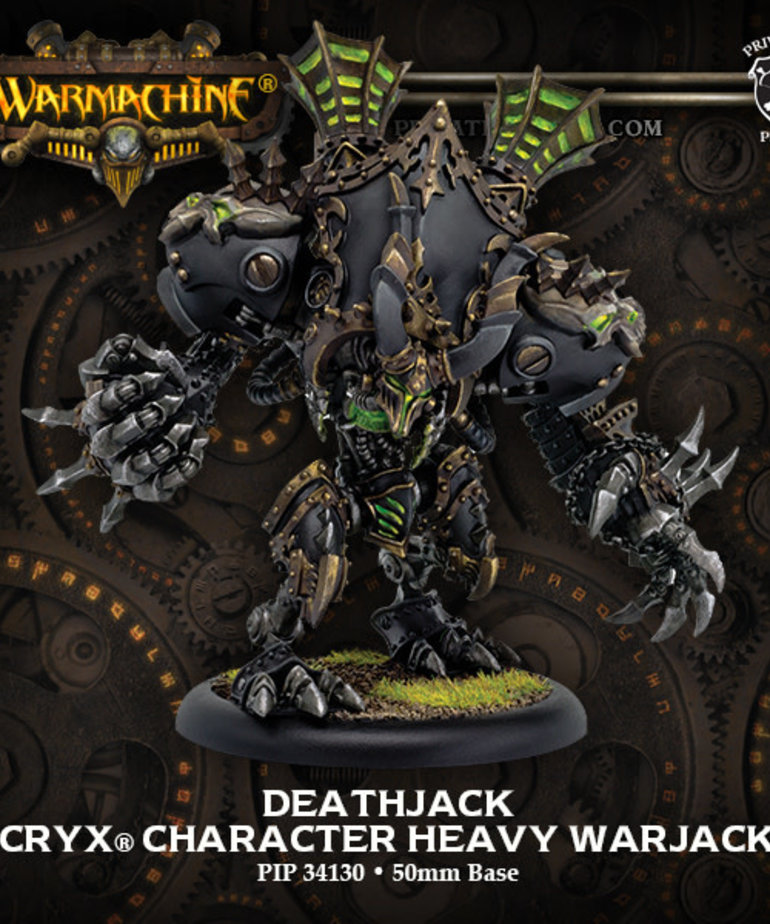 Privateer Press - PIP Warmachine - Cryx - Deathjack - Character Heavy Warjack