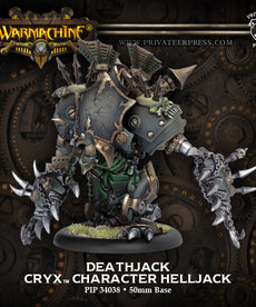 Privateer Press - PIP Warmachine - Cryx - Deathjack - Character Helljack