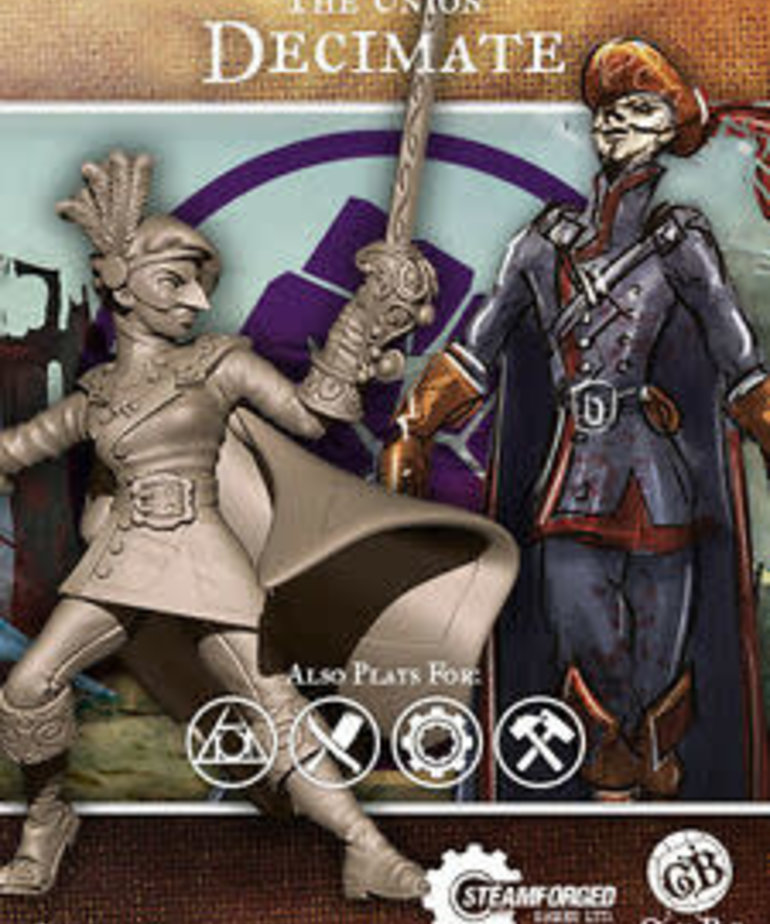 Steamforged Games LTD - STE Decimate Guild Ball BLACK FRIDAY NOW