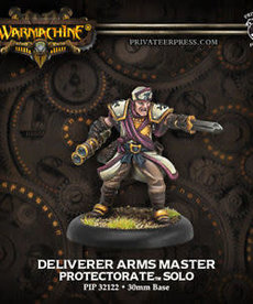 Privateer Press - PIP Warmachine - Protectorate of Menoth - Deliverer Arms Master - Solo
