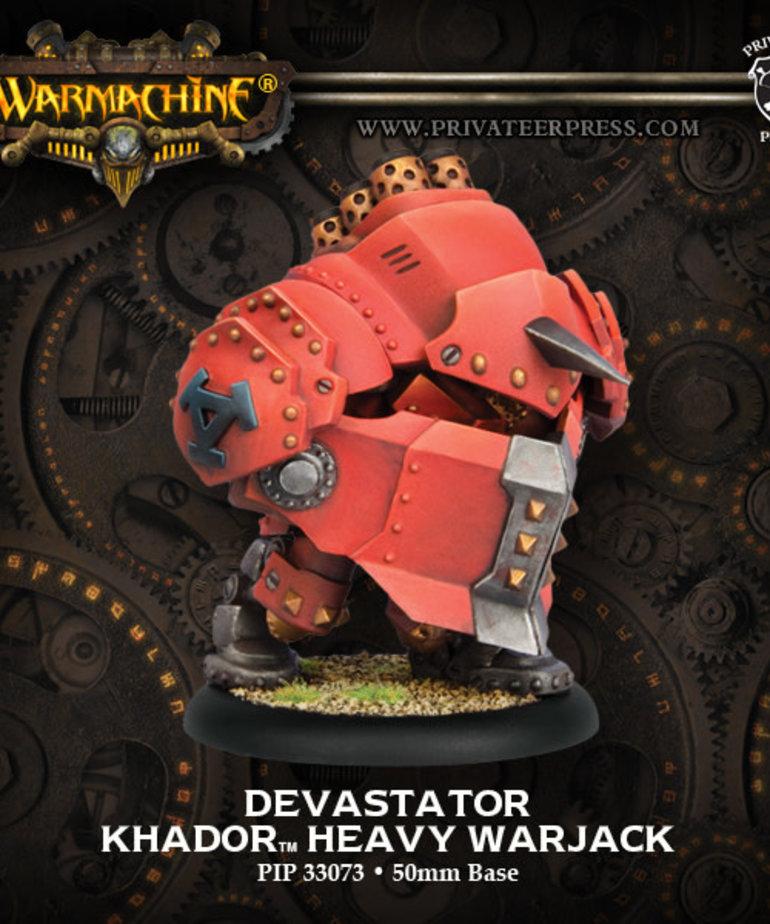 Privateer Press - PIP Warmachine - Khador - Demolisher / Devastator / Spriggan - Heavy Warjack