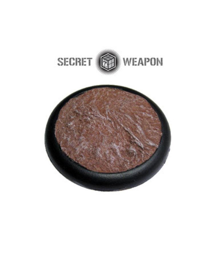 Secret Weapon Miniatures - SWM Desert Mesa 50mm Base 01 Secret Weapon Bases BLACK FRIDAY NOW