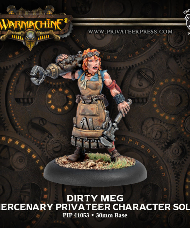 Privateer Press - PIP Warmachine - Mercenaries - Dirty Meg - Privateer Character Solo