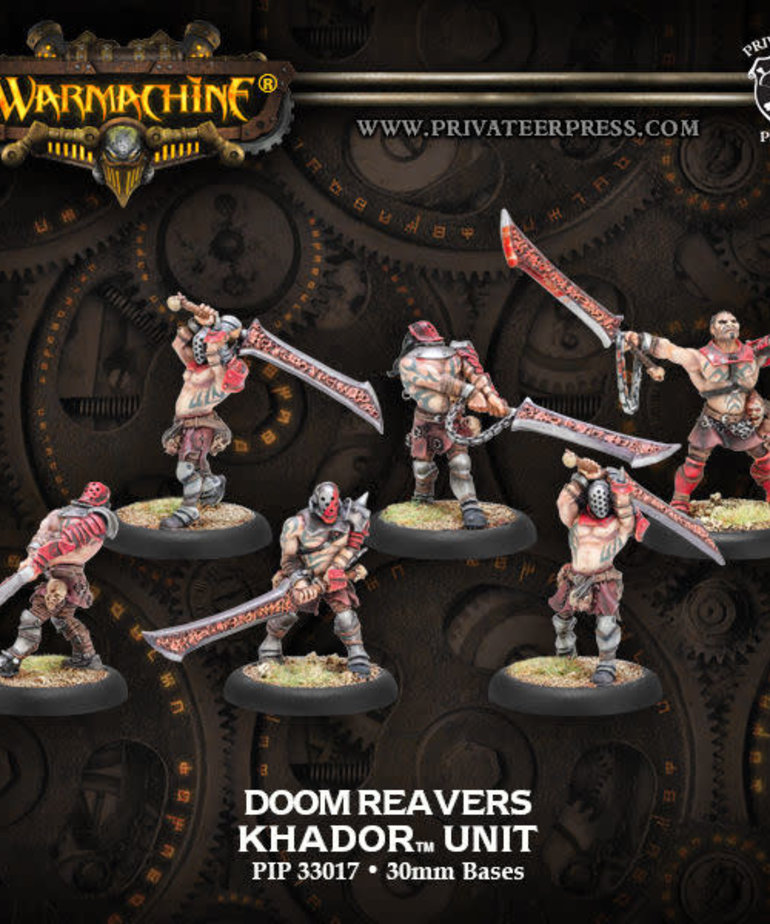 Privateer Press - PIP Warmachine - Khador - Doom Reavers - Unit