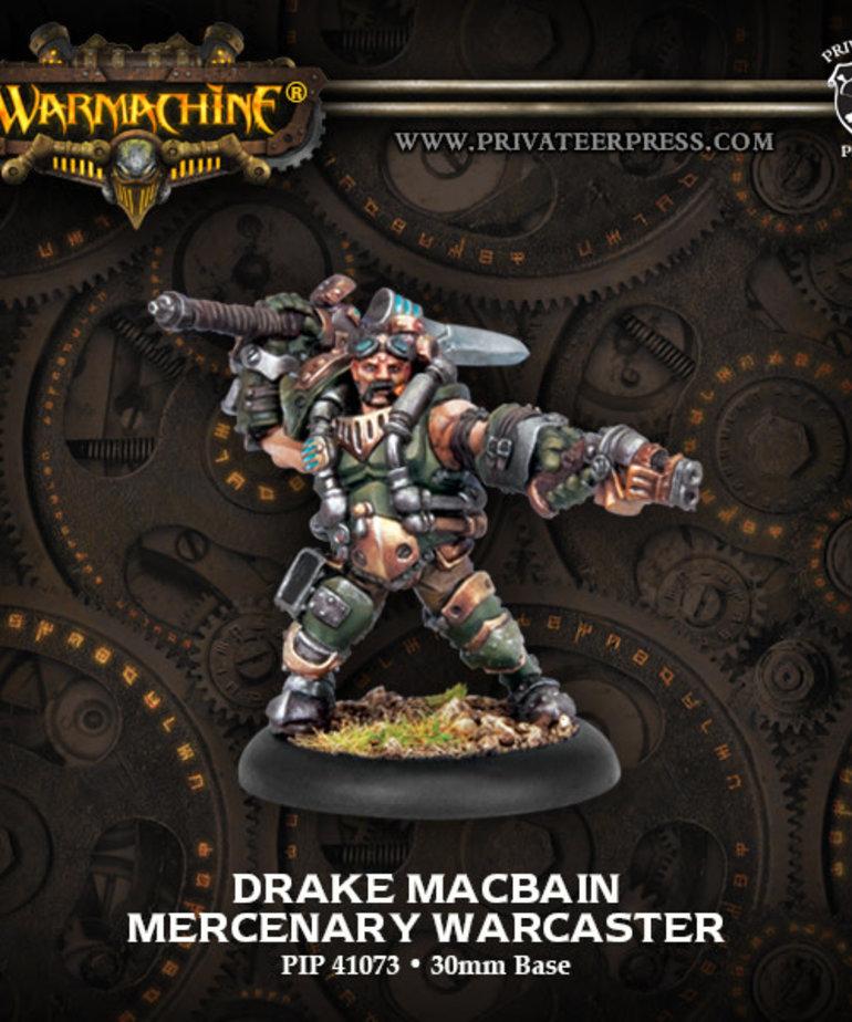 Privateer Press - PIP Warmachine - Mercenaries - Drake MacBain - Warcaster (MacBain 1)