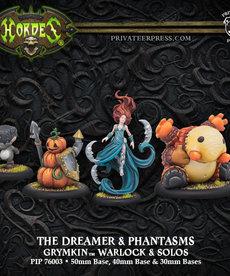 Privateer Press - PIP Hordes - Grymkin - The Dreamer & Phantasms - Warlock & Solos