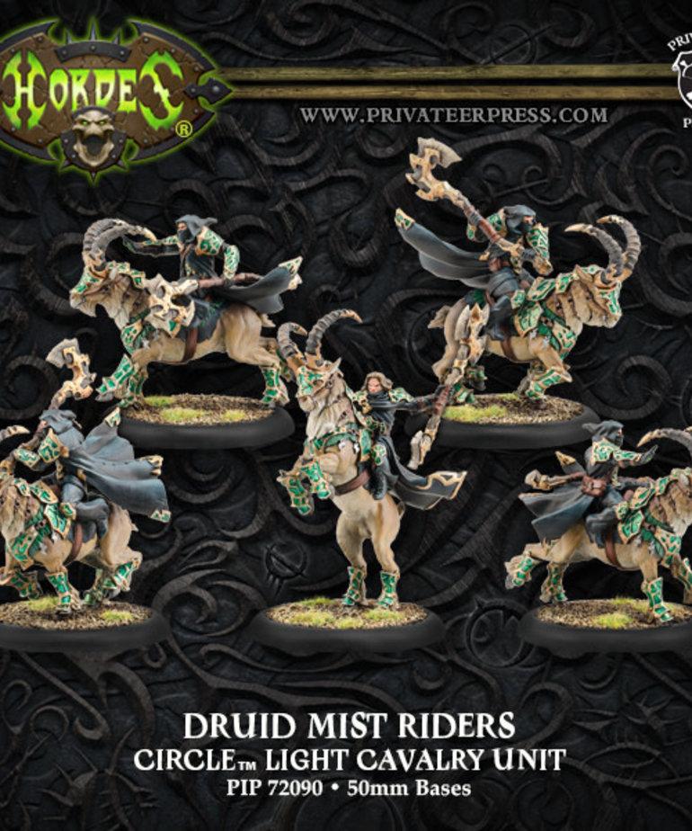 Privateer Press - PIP Hordes - Circle Orboros - Druid Mist Riders - Light Cavalry Unit