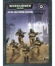 Games Workshop - GAW Warhammer 40K - Astra Militarum - Cadians - Easy to Build