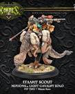 Privateer Press - PIP Hordes - Minions - Efaarit Scout - Light Cavalry Solo