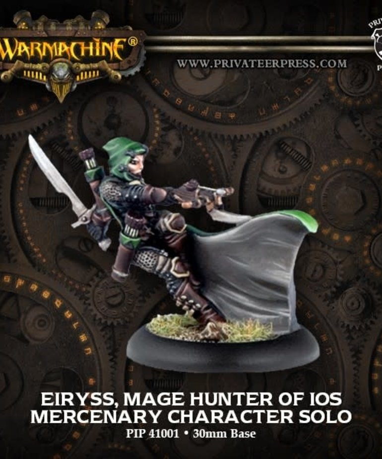 Privateer Press - PIP Warmachine - Mercenaries - Eiryss, Mage Hunter of Ios - Character Solo