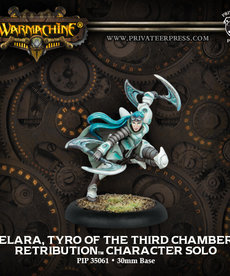 Privateer Press - PIP Warmachine - Retribution of Scyrah - Elara, Tyro of the Third Chamber - Character Solo