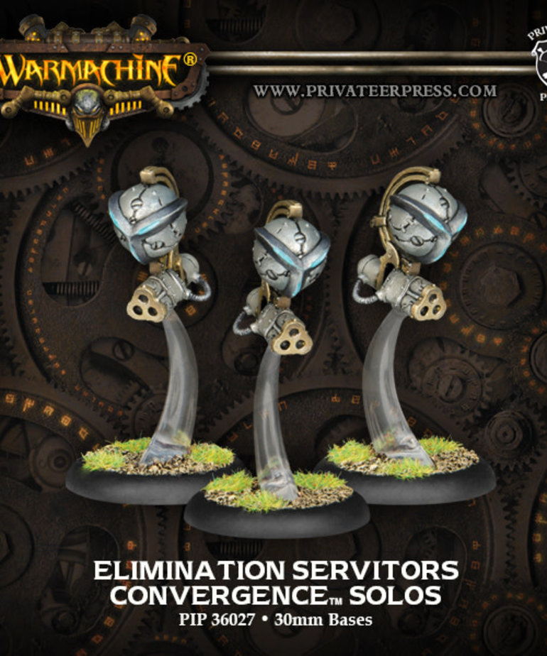 Privateer Press - PIP Warmachine - Convergence of Cyriss - Elimination Servitors - Solos