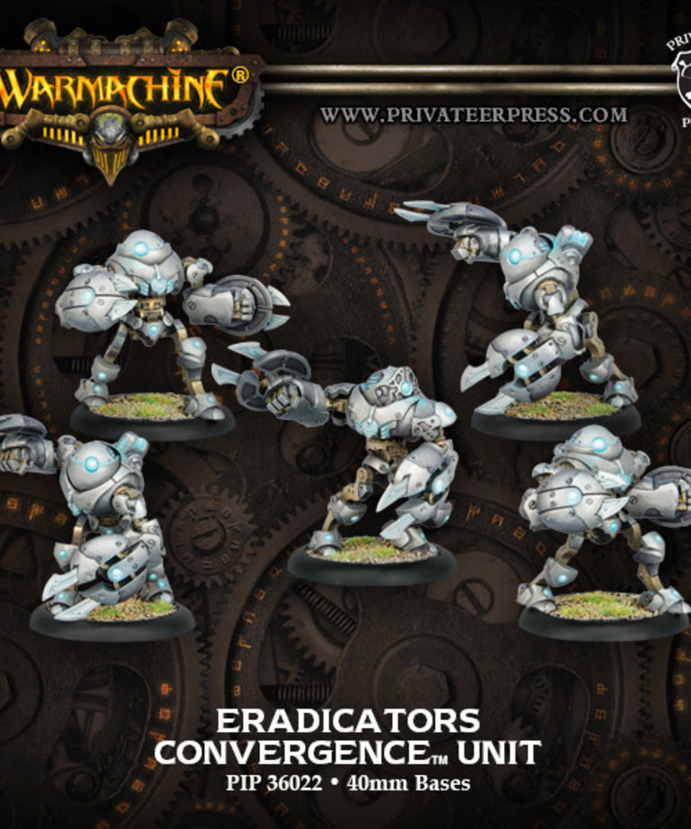 Privateer Press - PIP Warmachine - Convergence of Cyriss - Eradicators - Unit