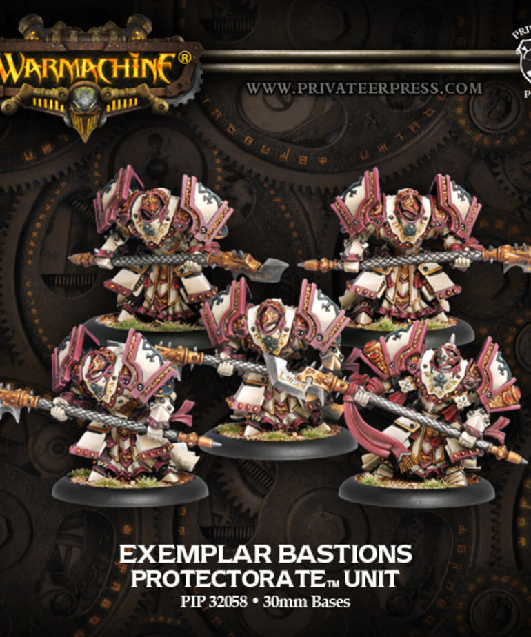 Privateer Press - PIP Warmachine - Protectorate of Menoth - Exemplar Bastions - Unit