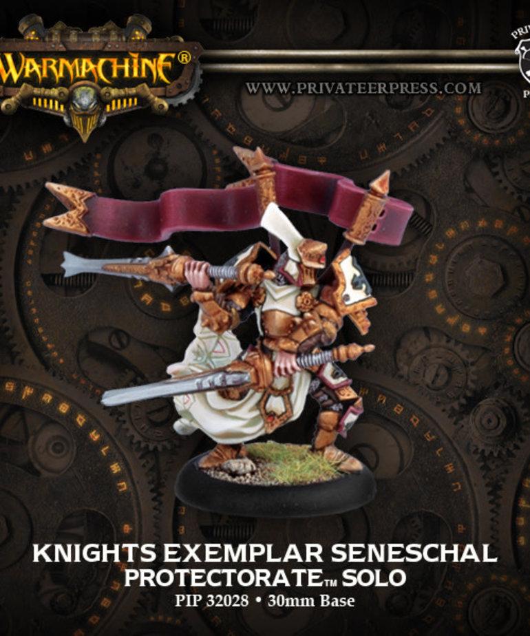 Privateer Press - PIP Warmachine - Protectorate of Menoth - Knights Exemplar Seneschal - Solo