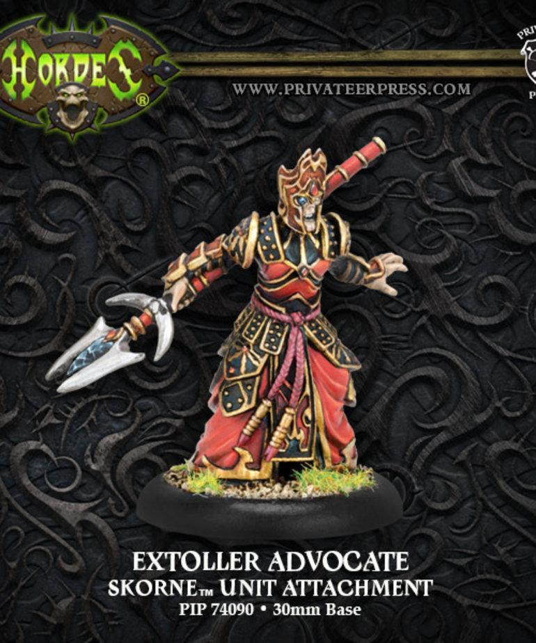 Privateer Press - PIP Hordes - Skorne - Extoller Advocate - Unit Atachment