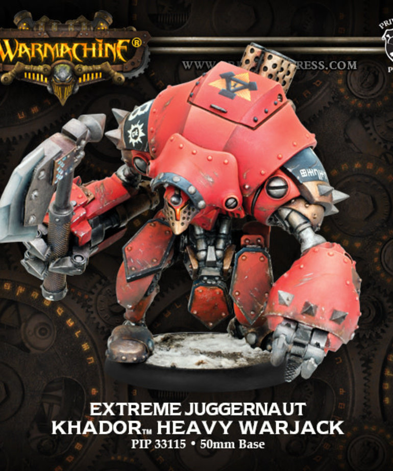 Privateer Press - PIP Warmachine - Khador - Extreme Juggernaut - Heavy Warjack