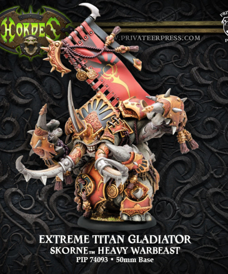 Privateer Press - PIP Hordes - Skorne - Extreme Titan Gladiator - Heavy Warbeast