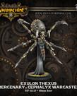 Privateer Press - PIP Warmachine - Mercenaries - Exulon Thexus - Cephalyx Warcaster (Exulon 1)