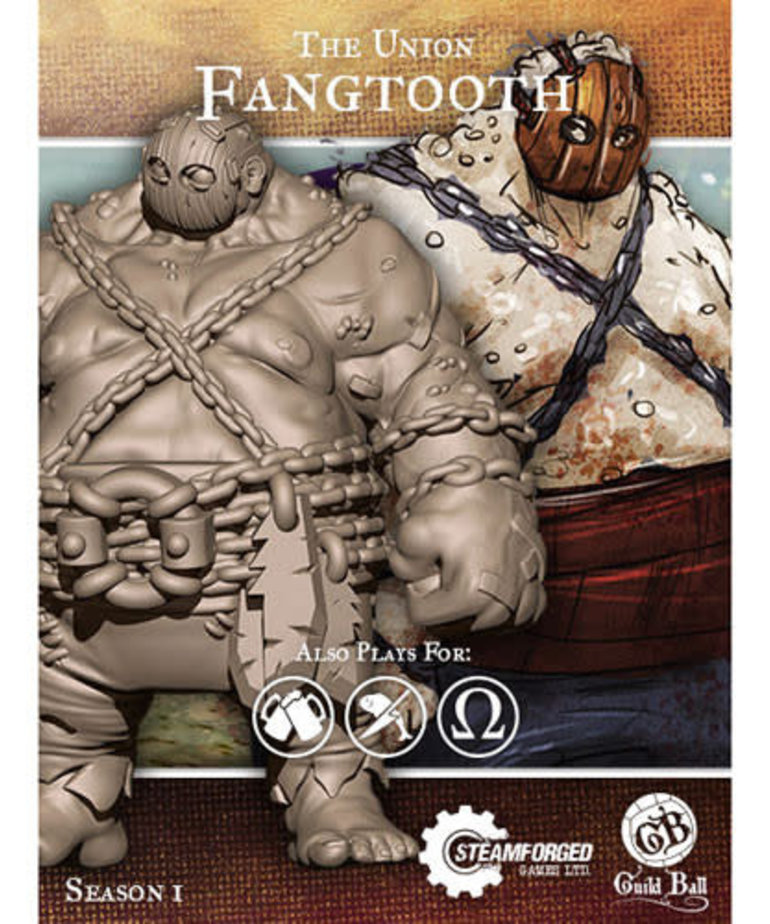 Steamforged Games LTD - STE CLEARANCE Fangtooth Guild Ball