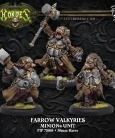 Privateer Press - PIP Hordes - Minions - Farrow Valkyries - Unit