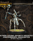 Privateer Press - PIP Warmachine - Convergence of Cyriss - Father Lucant, Divinity Architect - Warcaster (Lucant 1)