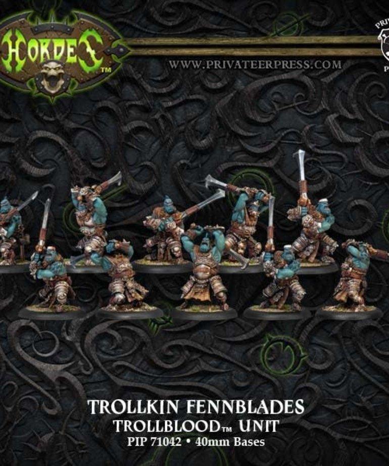 Privateer Press - PIP Hordes - Trollbloods - Trollkin Fennblades - Unit