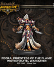 Privateer Press - PIP Warmachine - Protectorate of Menoth - Feora, Priestess of the Flame - Warcaster (Feora 1)