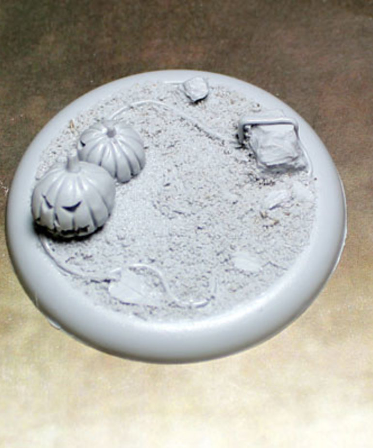 Secret Weapon Miniatures - SWM Field of Screams 50mm Base 02 Secret Weapon Bases BLACK FRIDAY NOW
