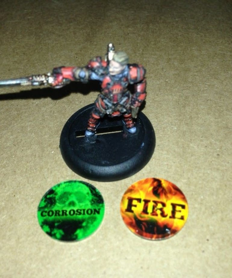Muse On Minis - MOM Fire / Corrosion Tokens