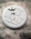Secret Weapon Miniatures - SWM CLEARANCE Flagstone 50mm Base 02 Secret Weapon Bases