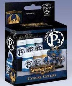 Privateer Press - PIP Privateer Press - Formula P3 - Cygnar Colors