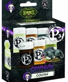 Privateer Press - PIP Privateer Press - Formula P3 - Grymkin Colors Paint Set