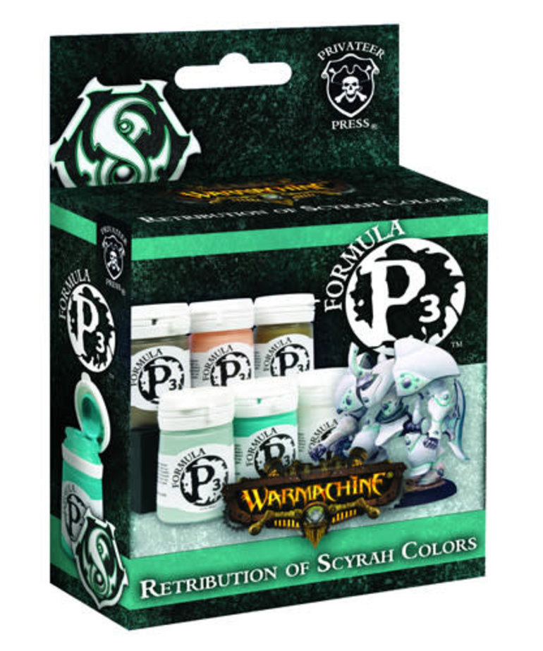 Privateer Press - PIP Privateer Press - Formula P3 - Retribution of Scyrah Colors