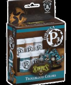Privateer Press - PIP Privateer Press - Formula P3 - Trollblood Colors