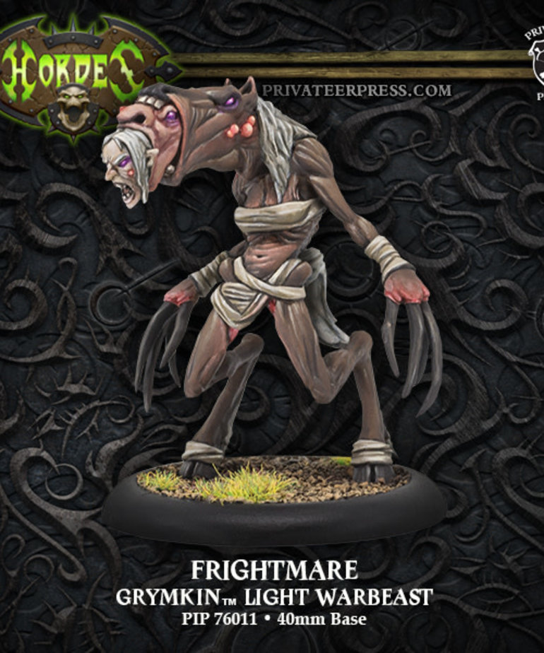 Privateer Press - PIP Hordes - Grymkin - Frightmare - Light Warbeast
